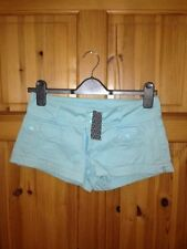 H&M Cotton Patternless Low Rise Shorts for Women