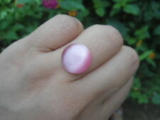 8.85 Carats  ANTIQUE NATURAL PINK APATITE CAT'S EYE AFRICA Gemstone