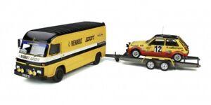 Pack Rallye Saviem SB2 + Renault 5 Alpine Gr.2 1/18 OTTOMOBILE OT332