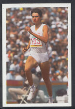 A Question of Sport 1986 Game Card - Kathy Cook - Athletics (T546)