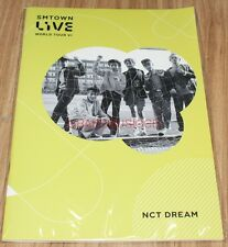 SMTOWN LIVE WORLD TOUR VI in SEOUL OFFICIAL GOODS NCT DREAM NOTE NEW