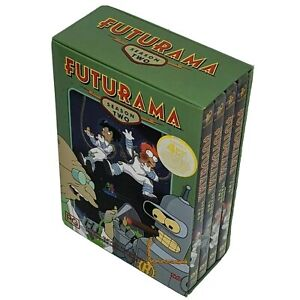 Futurama season 2 big box very good 2003 Matt Groening free postage and tracking