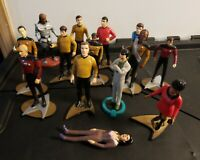 "Hamilton Gifts Star Trek Original Series Next Generation 4"" PVC Figures"