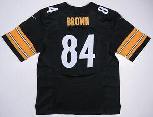 Antonio Brown Pittsburgh Steelers Nike On Field NFL Football Sewn #84 Jersey 52