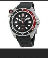 BULOVAPrecisionist Catamount Black Dial Coke Bezel Men's Watch98B166
