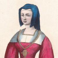 Jeanne de Bar Comtesse de Marle Soissons Dame de Condé Louis de Luxembourg