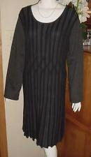 STYLE & CO 2 TONE SWEATER DRESS SZ 3X BLACK GRAY BELL SLEEVES K32
