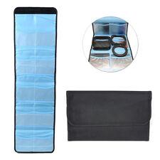 New Filter Wallet Lens Adapter Ring Storage Bag Case Pouch Holder 10 Pockets