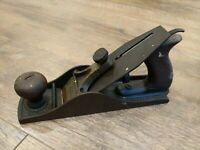 Antique Siegley Wood Plane No. 4 Pat 12-5-93 Corrugated Bottom Woodworking Tool