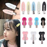 4Pcs Hair clip no bend hair bangs clips no mark hair pin curl clips 4 color x
