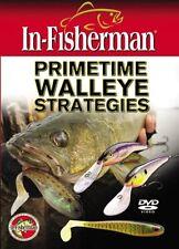 In-Fisherman Primetime Walleye Strategies DVD Video NEW SEALED # DIFPWS