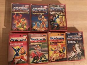 7 Masters of the Universe MCs Europa 1-3, 5-8