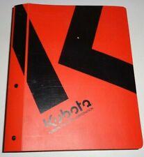 Kubota L3560 L4060 L4760 L5060 L5460 L6060 Tractor Service Workshop Manual OEM