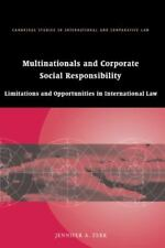 Multinationals and Corporate Social Responsibility: Limitations and Opportuni...