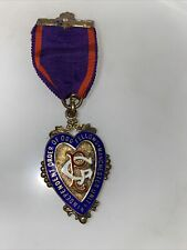 More details for sterling silver gilt independent order of oddfellows manchester unity medal 1938