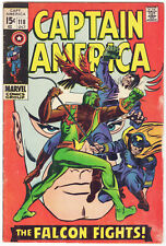 Captain America #118 (1969) 2nd Appearance of the Falcon