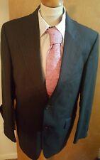 """Mens Sidi Lanificio di tollegno Pinstripe Wool Suit 40""""/ W34 / L31"""