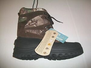 REALTREE ITASCA KETCHIKAN WATERPROOF CAMOUFLAGE BOOTS MENS SIZE 10 NEW W TAGS