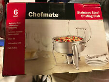 Chefmate 6 Quart Stainless Steel Chafing Dish