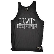 Gravity Is A Downer Breathable bouldering sports BELLE VEST SINGLET TOP
