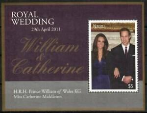 Nauru Stamp - Prince William wedding Stamp - NH