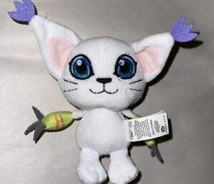 "Digimon Adventure Mini Plush mascot 3"" Gatomon Tailmon Stuffed Doll Plush Toy"