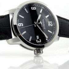 TISSOT MEN PRC200 SWISS MADE QUARTZ SAPPHIRE 40mm LEATHER T0554101605700