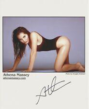 Athena Massey Original Autogramm 8X10