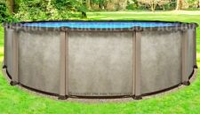 "15 Round 54"" Saltwater LX Above Ground Salt Swimming Pool with 25 Gauge Liner"