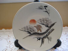 Vintage Japanese Handpainted Plate, Made In Japan