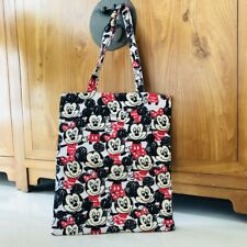 mickey minnie big eye shoulder bag shopper bags lunch bag storage handbag zip