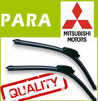 2 Escobillas Limpiaparabrisas Flexibles para Mitsubishi ASX 2010+ 60/53cm