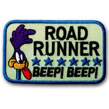 Road Runner Beep Beep Patch Embroidered Iron on Badge Cartoon Bird Sew Car Race