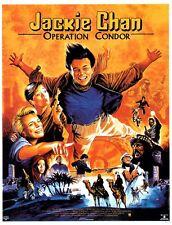 OPERATION CONDOR Movie Poster 160x120 Affiche Cinéma JACKIE CHAN