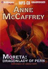 Anne McCAFFREY  / MORETA: Dragonlady of PERN  [ Audiobook ]