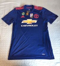 BNWT Adidas Manchester United 2016-2017 away shirt player issue Adizero Medium