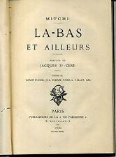 MITCHI. LA-BAS ET AILLEURS. ALLEMAGNE VOSGES LONDON. 1890. CARAN D'ACHE FORAIN..