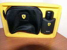 Ferrari Black Profumo EDT 75 ML Vapo + Borsellino
