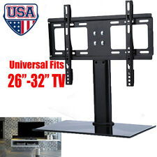 """Universal Fit TV Stand/Base+Wall Mount for 26""""-30""""-32"""" Flat-Screen Monitor TVs"""