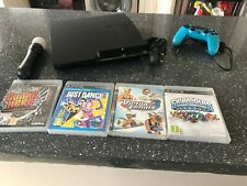 PlayStation 3 60GB Console - Black - with 4 GAMES AND POWER PLUG - PS3