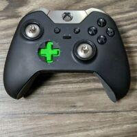 Microsoft Xbox One Elite Wireless Controller NOT WORKING DAMAGED - Black