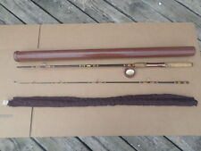 Vintage Browning Silaflex Spinning Rod Fishing Rod 2 piece & Case And Sleeve