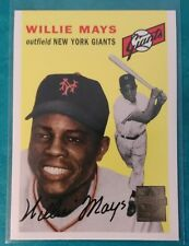 1997 TOPPS WILLIE MAYS 1954 REPRINT #5 GIANTS NEW YORK SAN FRANCISCO NY SF HEY