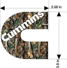 6'' x 6' 'Cummin Camo Decal  Sticker (let me know which one you want )