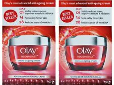 2 x Olay 50g Regenerist Micro-sculpting Cream 100% Brand New