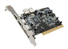 PCI USB 2.0 2+1+1 Header and 1394a 2+1 Combo Card, VIA Chipset, with Ulead
