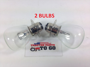 KUBOTA TRACTOR HEADLIGHT BULBS  2 BULBS L175,L1500,L225,L345, 12V,35/35 WATT