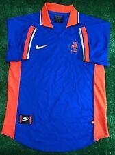 HOLLAND 1997/1998 AWAY NEDERLAND FOOTBALL SOCCER JERSEY SHIRT NIKE SIZE M