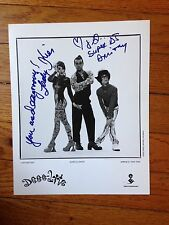 Deee Lite Fabulous 8 X 10 PHOTO  SIGNED GUARANTEED AUTHENTIC