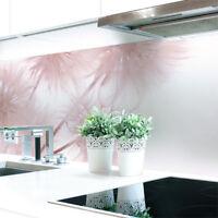 Küchenrückwand Löwenzahn Rosa Premium Hart-PVC 0,4 mm selbstklebend
